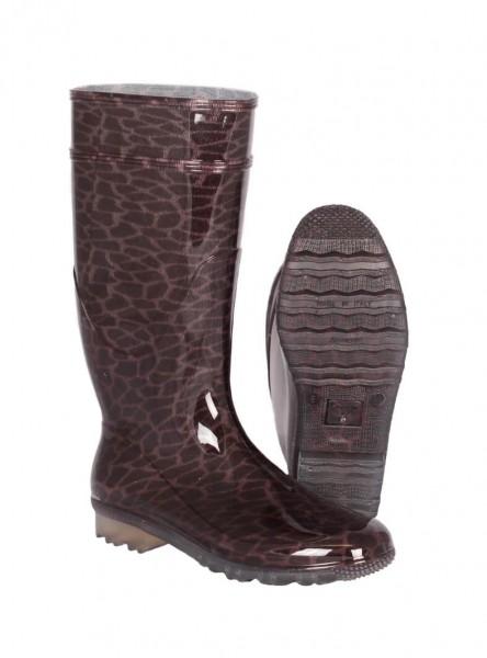 G&G Gummistiefel PVC LINA leopard