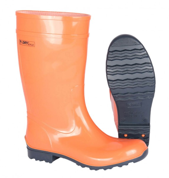 Gummistiefel Damen Luisa orange-blau