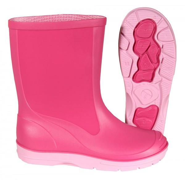 Gummistiefel Kinder Basic PVC pink