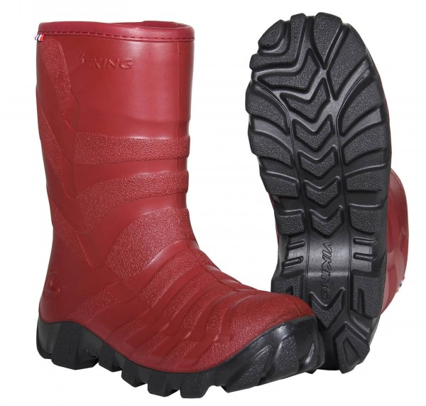 Viking Ultra 2.0 Winterstiefel dark red/charcoal Kinder