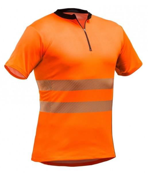 PFANNER Tencel Poly Zipp-Neck Shirt nach EN 20471