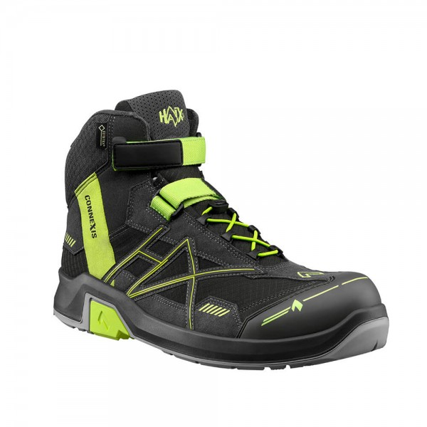 CONNEXIS Safety GTX S3 mid grey-citrus