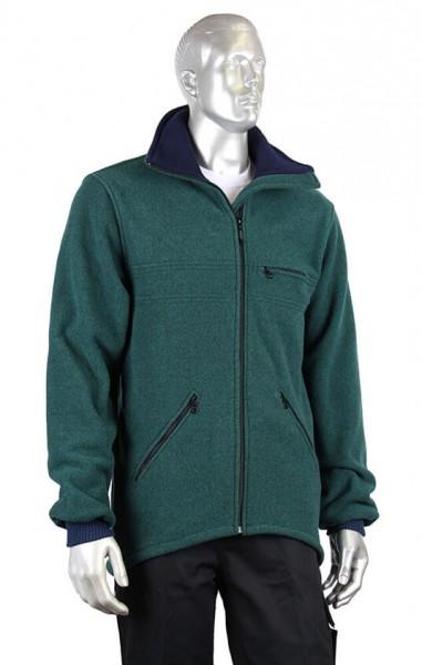 HF Micro-Fleece-Jacke grün Herren