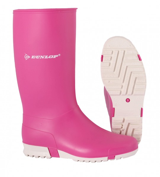 Gummistiefel Dunlop Sport Damen pink